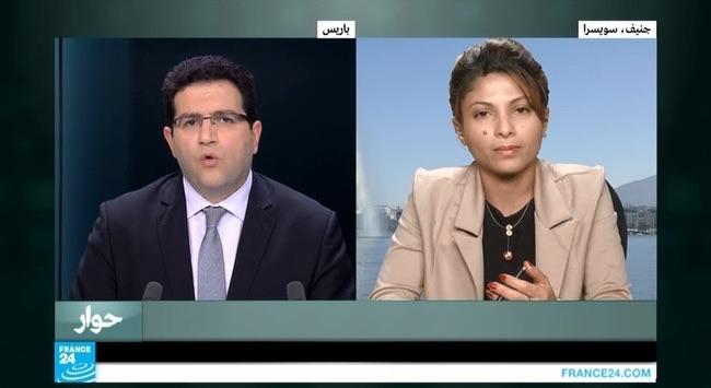Ensaf France 24 interview