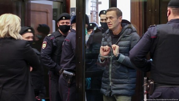 25 Human Rights NGOs Announce Jailed Russian Dissident as 2021 Courage Award Winner
